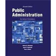 Public Administration An Action Orientation, (with CourseReader 0-30: Public Administration Printed Access Card)