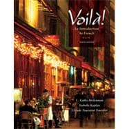 Voilà!: An Introduction to French, 6th Edition