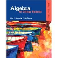 Algebra for College Students plus MyMathLab -- Access Card Package