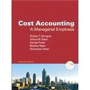 Cost Accounting& Myaccountglb W Etx Sac Package