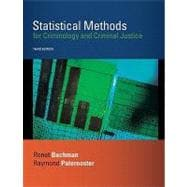 Statistical Methods for Criminology and Criminal Justice