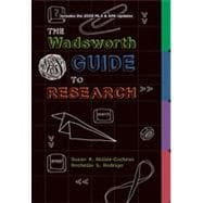 Wadsworth Guide to Research, Documentation Update Edition, 1st Edition
