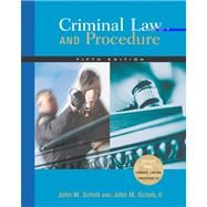 Criminal Law and Procedure (with CD-ROM and InfoTrac)