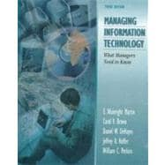 Managing Information Technology : What Managers Need to Know