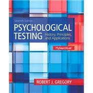 Psychological Testing: History, Principles and Applications, 7/e