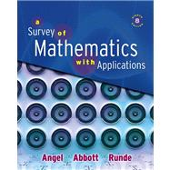Survey of Mathematics with Applications Value Pack (includes Student's Solutions Manual for A Survey of Mathematics with Applications and Video Lectures on CD with Optional Captioning for A Survey of Mathematics with Applications)