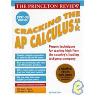 Cracking the AP Calculus AB & BC, 1997-98