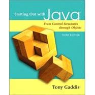 Starting Out with Java : From Control Structures Through Objects