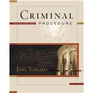 Criminal Procedure (with CD-ROM and InfoTrac)