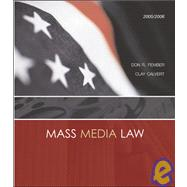 Mass Media Law 2005/2006 Edition
