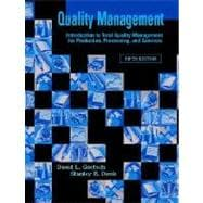 Quality Management for Organizational Excellence : Introduction to Total Quality