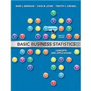 Basic Business Statistics Plus MyStatLab Package