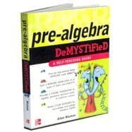 Pre-Algebra Demystified