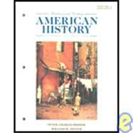 Reading and Writing American History- An Introduction to the Historian's Craft Vol. II