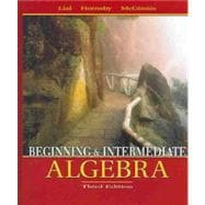Beginning and Intermediate Algebra: Mymathlab Student Starter Kit
