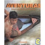 Aventuras: Primer Curso De Lengua Espanola