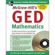 McGraw-Hill's GED Mathematics Book w/CD-ROM