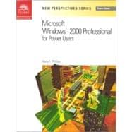 Microsoft Windows 2000 Professional for Power Users