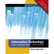 Information Technology Project Management, Revised, 6th Edition