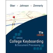 Gregg College Keyboarding &amp; Document Processing (GDP); Lessons 1-60 text