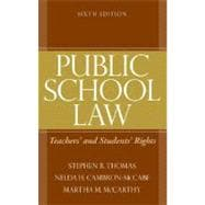 Public School Law : Teachers' and Students' Rights