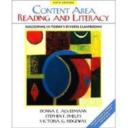 Content Area Reading and Literacy: Succeeding in Today's Diverse Classrooms