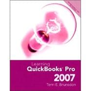 Learning Quickbooks Pro 2007 and Student CD Package