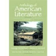Anthology of American Literature, Volume I