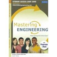 Masteringengineering with Pearson Etext -- Standalone Access Card -- for Mechanics of Materials