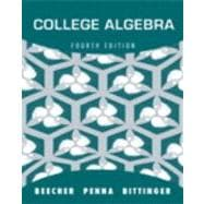 College Algebra plus MyMathLab/MyStatLab -- Access Card Package