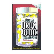 Davis's Drug Guide for Nurses Without Disk