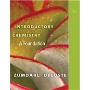Introductory Chemistry A Foundation