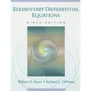 Elementary Differential Equations, 9th Edition