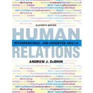 Human Relations Interpersonal Job-Oriented Skills