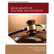 Legal Rights of Teachers and Students