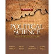 Political Science An Introduction Plus NEW MyPolisciLab with Pearson eText-- Access Card Package