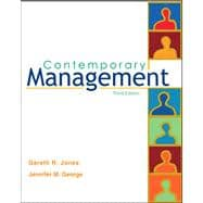 Contemporary Management with Studend CD ROM and PowerWeb