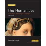 Humanities Culture, Continuity and Change, Volume II, The,  Plus NEW MyArtsLab  -- Access Card Package