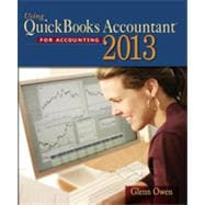 Using Quickbooks Accountant 2013 (with CD-ROM and Data File CD-ROM), 12th