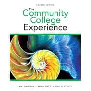 Community College Experience, The Plus NEW MyStudentSuccessLab -- Access Card Package