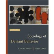 Sociology of Deviant Behavior (with InfoTrac)