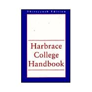 HARBRACE COLLEGE HANDBOOK,13E(NEW ORG)