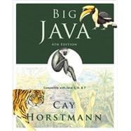 Big Java: Compatible with Java 5, 6 and 7, 4th Edition