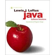 Java Software Solutions : Foundations of Program Design