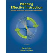 Planning Effective Instruction Diversity Responsive Methods and Management