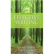 Effective Writing: A Handbook for Accountants