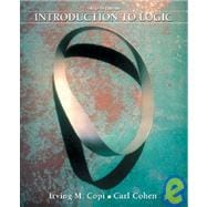 INTRO TO LOGIC & ELOGIC EXERCISES CD PKG, 12/e