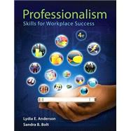 Professionalism Skills for Workplace Success Plus NEW MyStudentSuccessLab -- Access Card Package