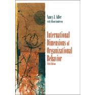 International Dimensions of Organizational Behavior, 5th Edition
