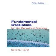 Fundamental Statistics for the Behavioral Sciences (with CD-ROM and InfoTrac)